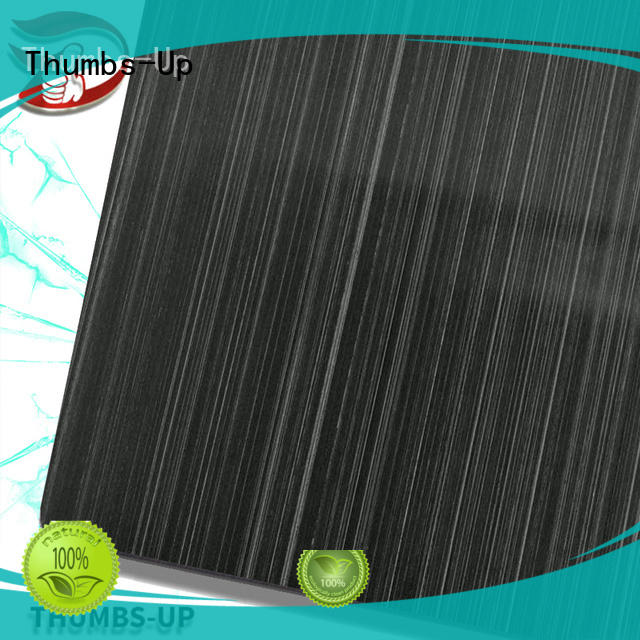Thumbs-Up hairlinecoffee small steel plates wholesale for cabinet