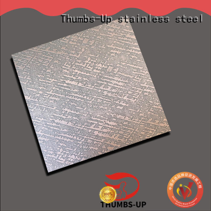 Thumbs-Up antique stainless steel sheet sizes wood for hotel