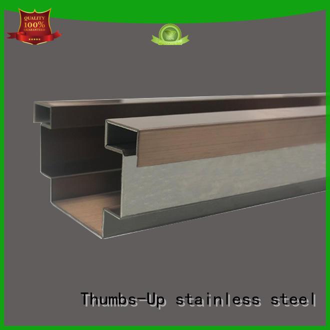 Thumbs-Up golden decorative tile trim factory for villa