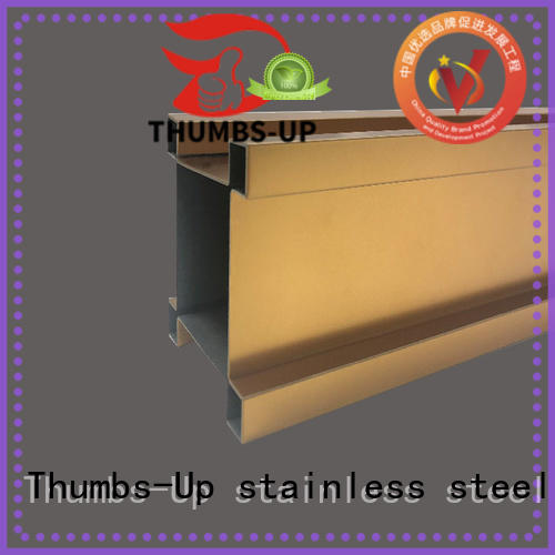Thumbs-Up arc stainless steel j molding supplier for house