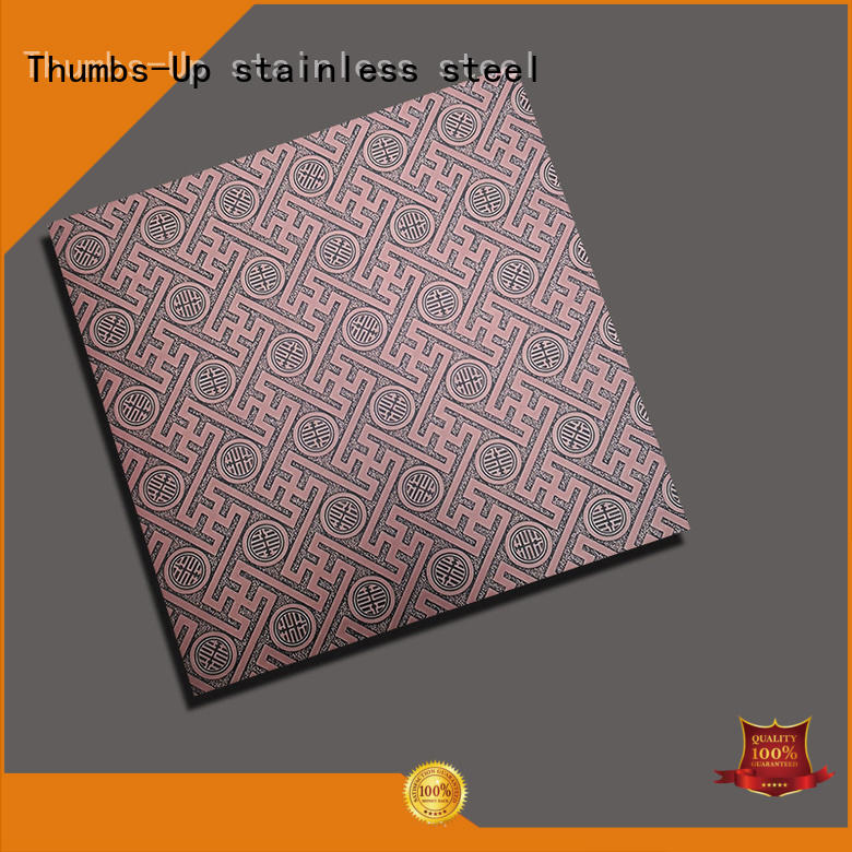 Thumbs-Up corrugated chequer plate sheet pressed for signboard