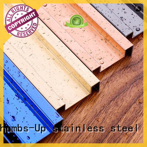 Thumbs-Up edge stainless steel j channel supplier for house