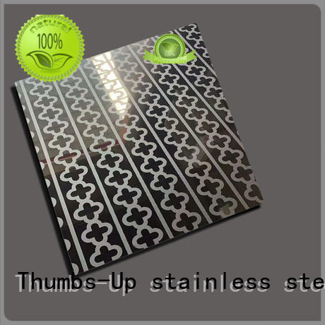 Thumbs-Up lattice acid etching steel customized for elevator