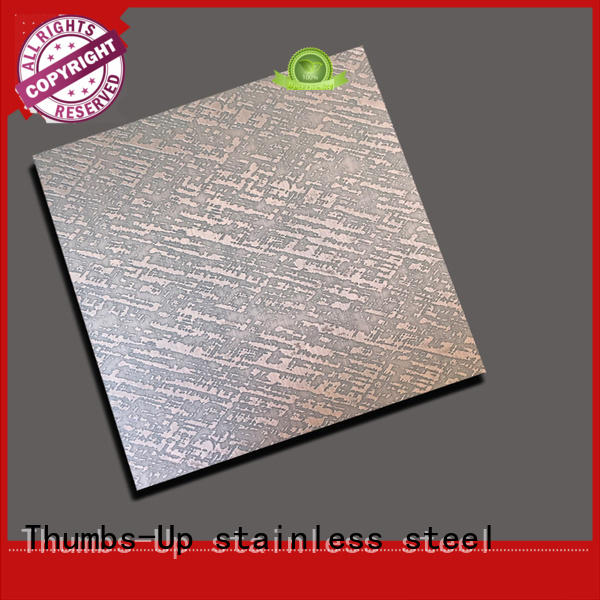 cloth free lattice Thumbs-Up Brand stainless steel sheet finishes factory
