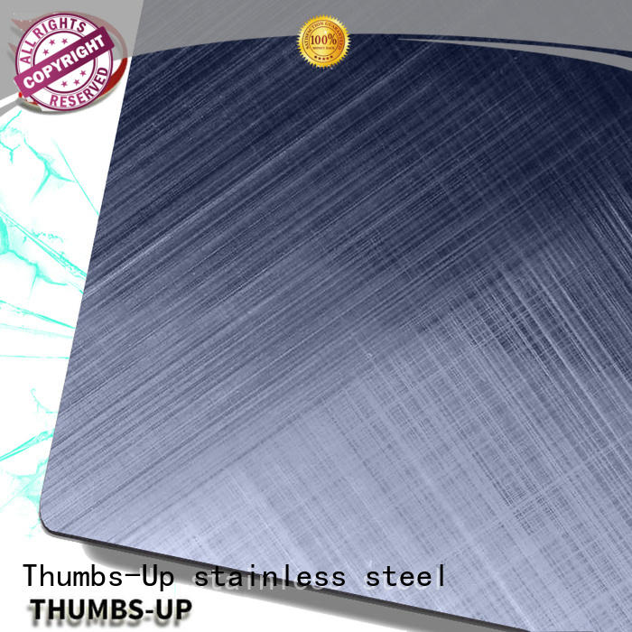 Thumbs-Up nano stainless steel sheet cost sandblastinggold for lobby