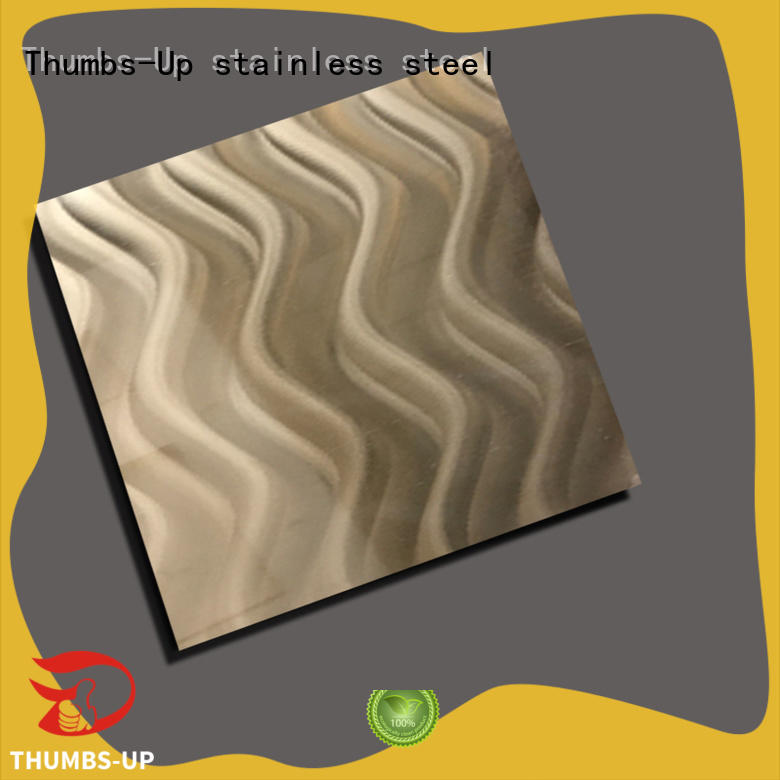 Wholesale make stainless steel plate Thumbs-Up Brand