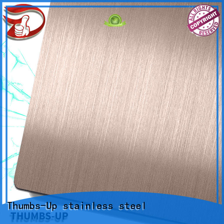 Thumbs-Up finishgold 304 plate supplier for ceiling